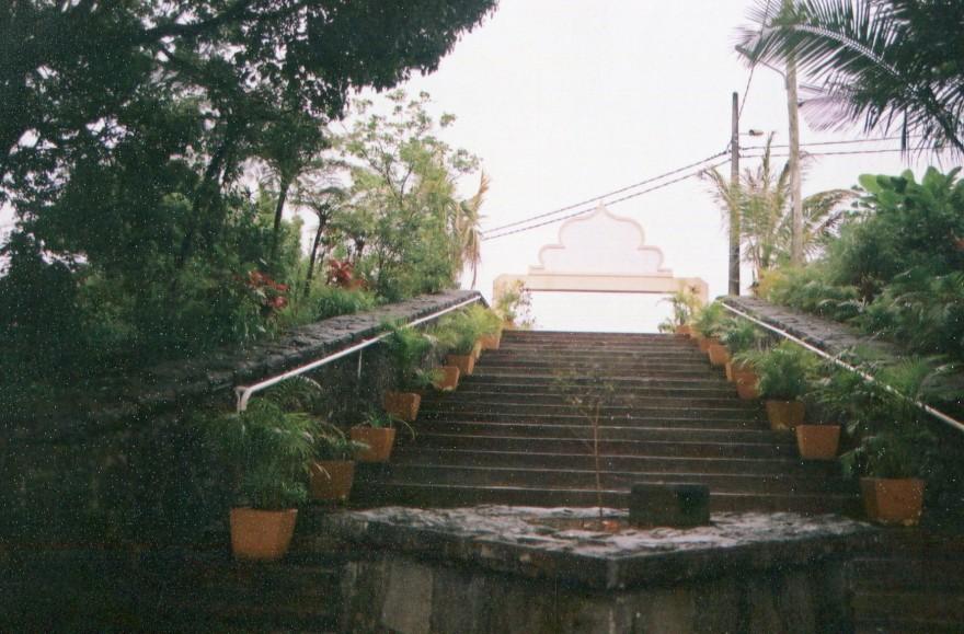 11 entrée escalier